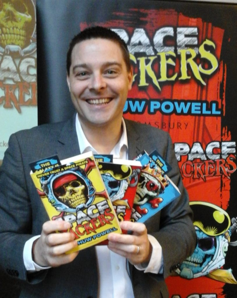Getting creative with Spacejackers author