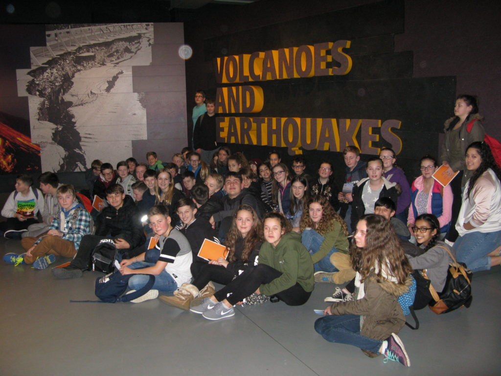 Discovering Tectonics at the Natural History Museum