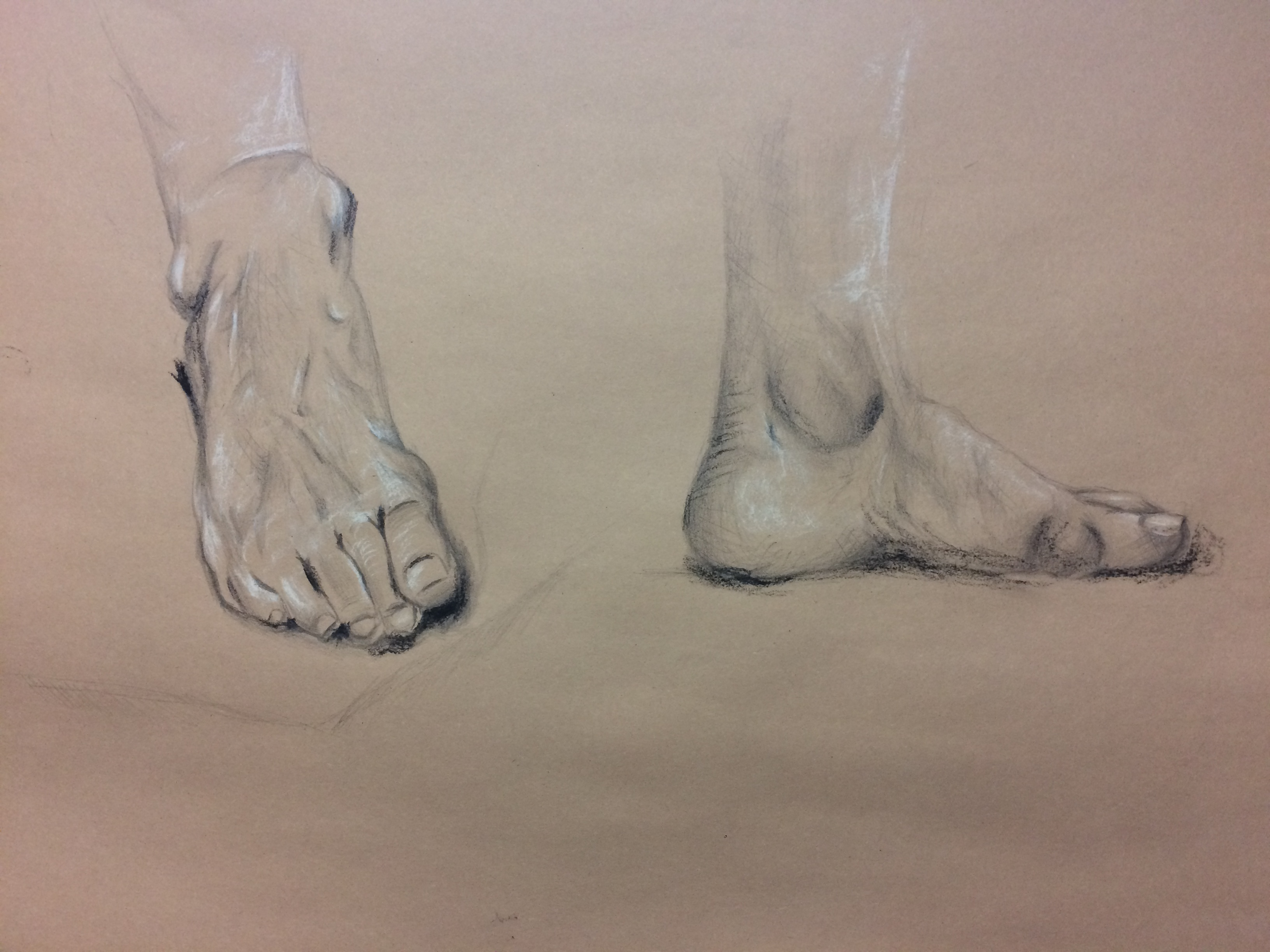 New English Art Club Life Drawing