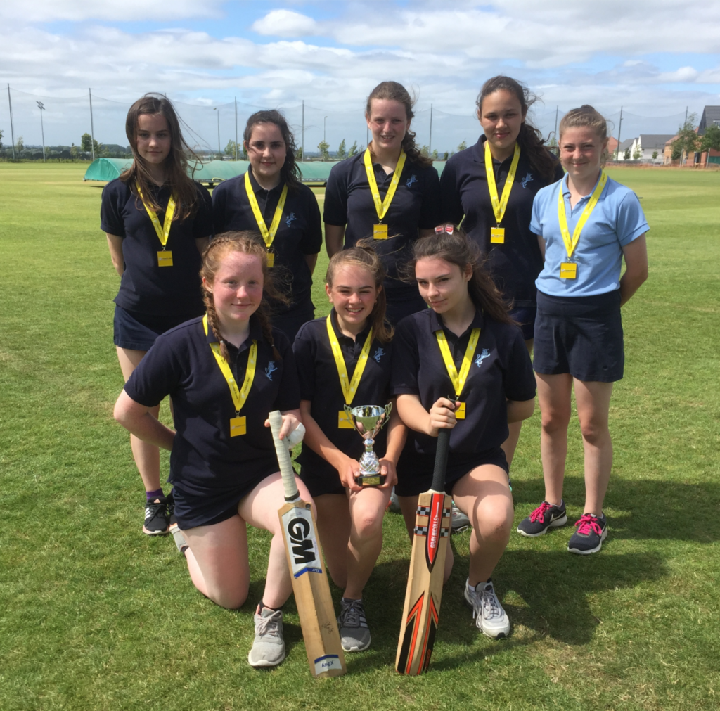 Success at Girls Cricket Competition