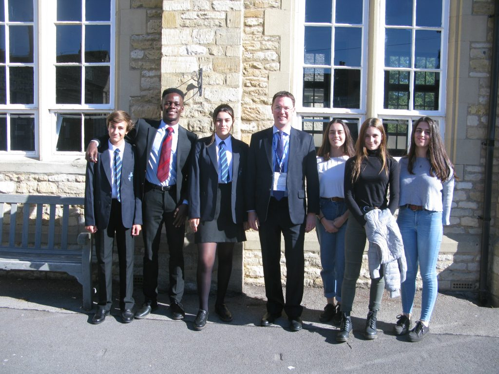 Visit from Robert Courts MP