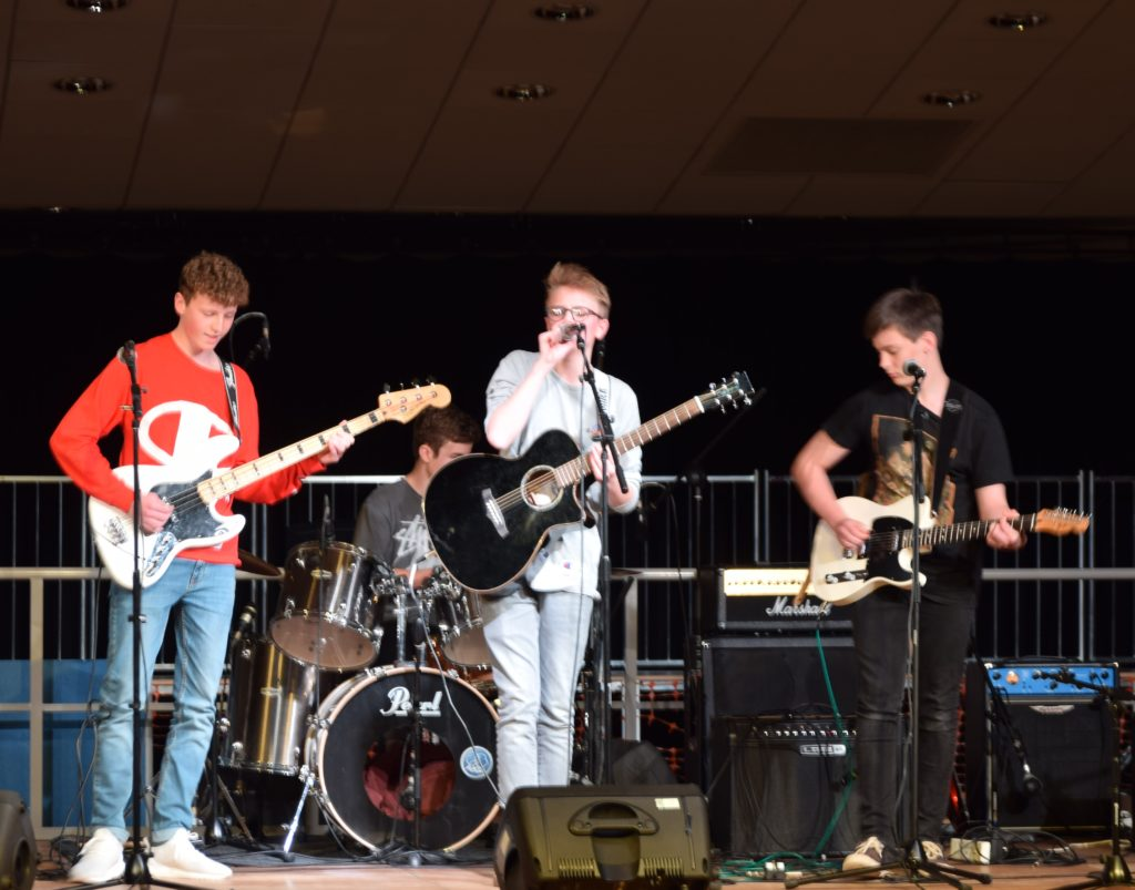 Rock Band Win County Music Competition