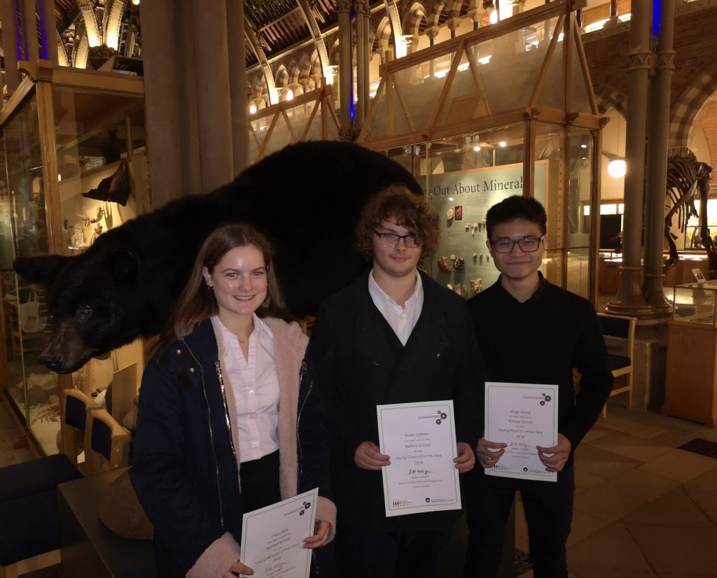 Students Nominated for Science Awards