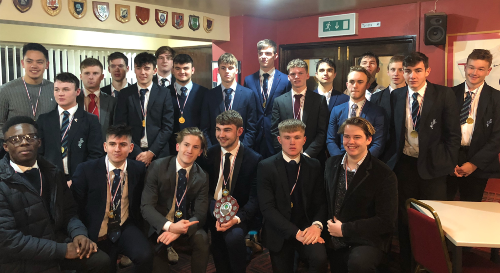 Senior Rugby Squad Win District Title