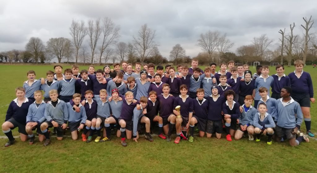 Falkland Win Junior House Rugby