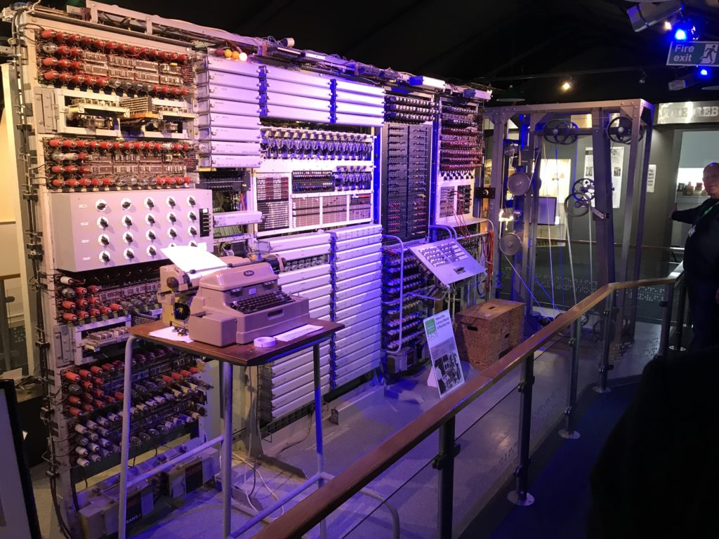 Thrilling Visit to Bletchley Park
