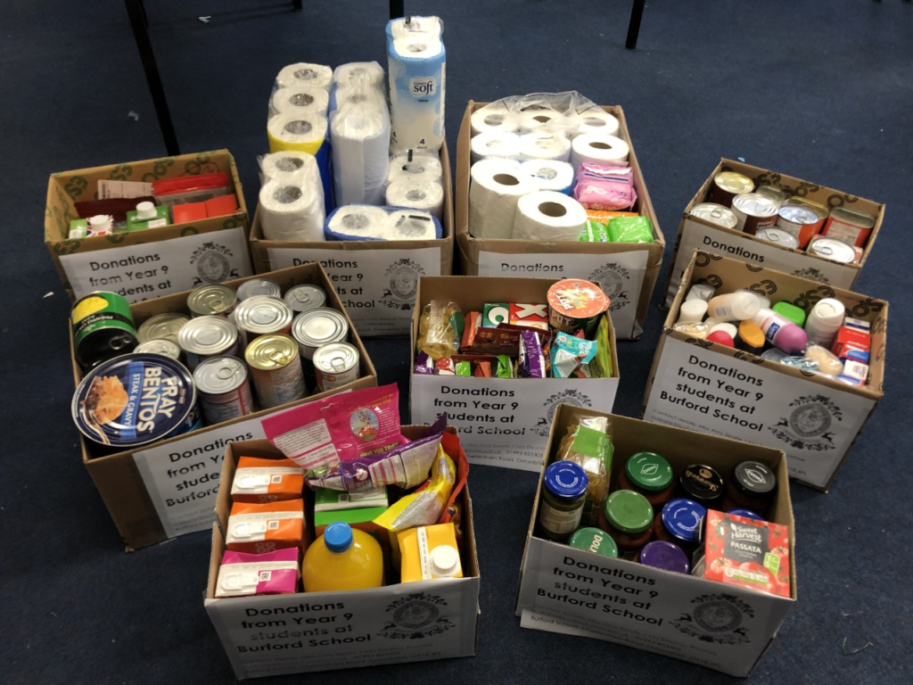 Donations for Witney Foodbank