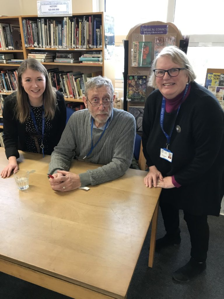 Storytelling at its Best with Michael Rosen