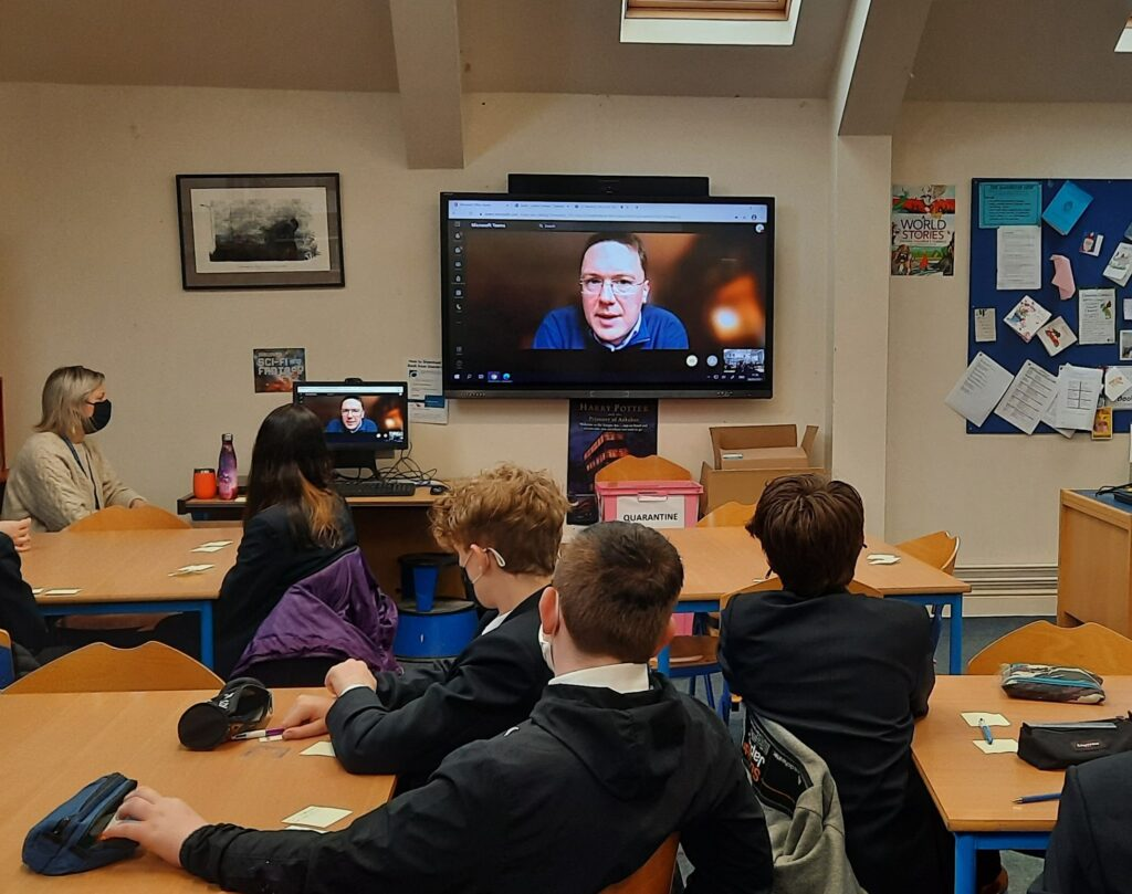 Virtual Q&A with Robert Courts MP